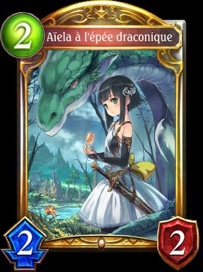 Aïela à l'épée draconique