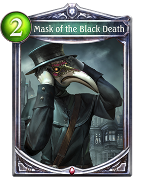 Mask of the Black Death