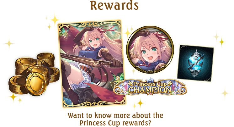 Want to know more about the Princess Cup rewards?