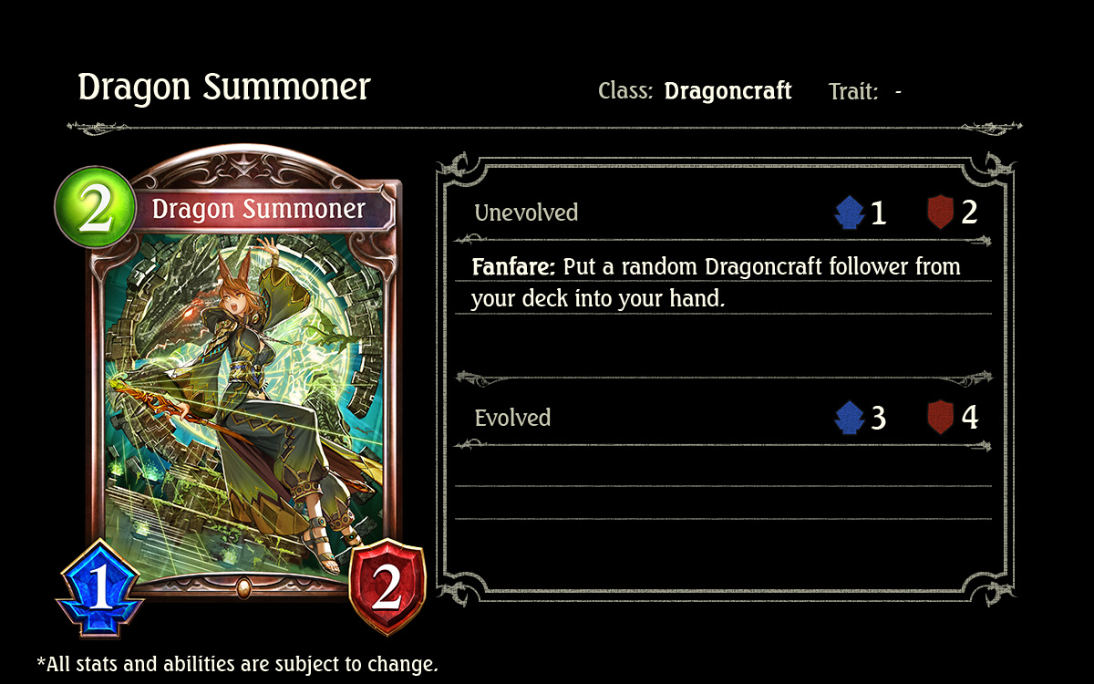Any Card That Can Tutor Search For Other Cards Is Worthwhile And Dragon Summoner Is No Exception Its Ability To Draw A Random Dragoncraft Follower Can