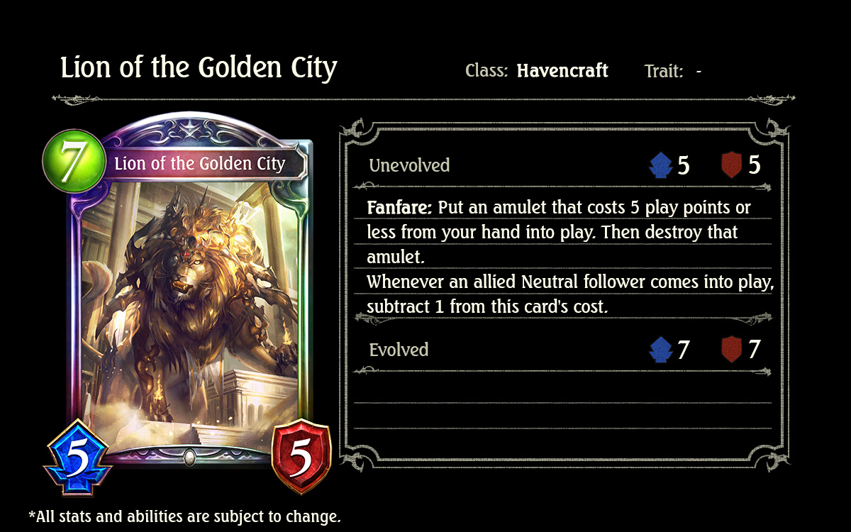 lion of the golden city