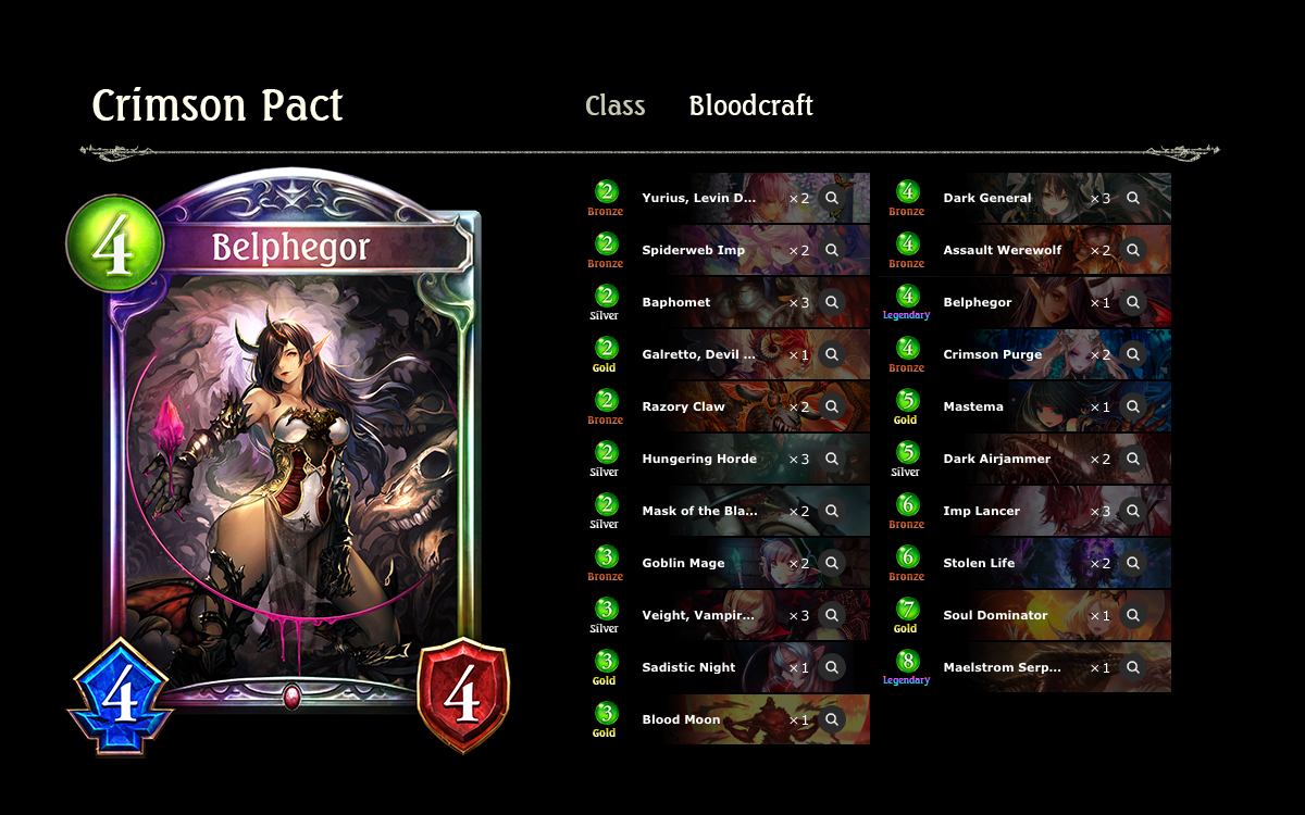 Prebuilt Deck Review: Crimson Pact | Articles | Shadowverse