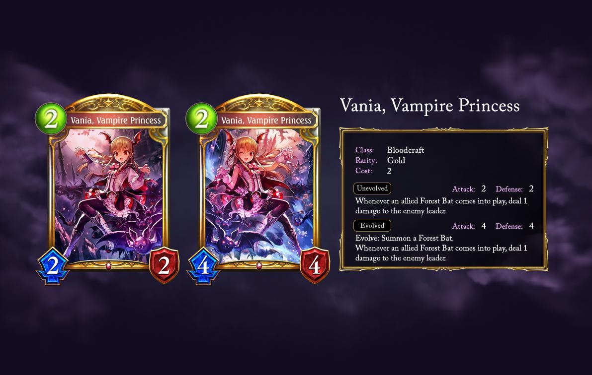 Vania, Vampire Princess